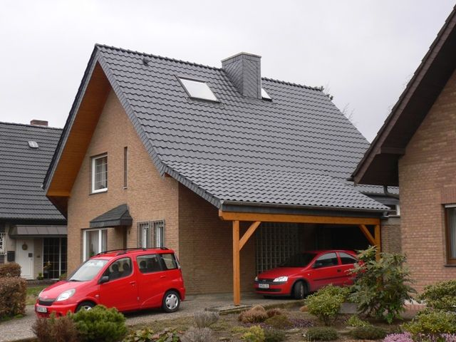 Carport in Dachziegel