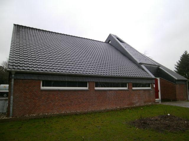 Leichehalle-Dachsanierung